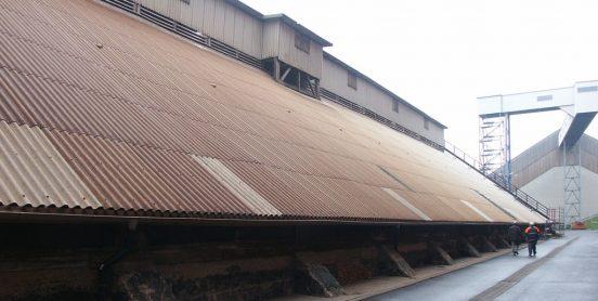 K+S | Salzlagergebäude